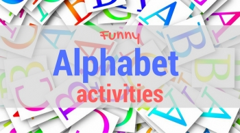 Fun alphabet activities. Set #3