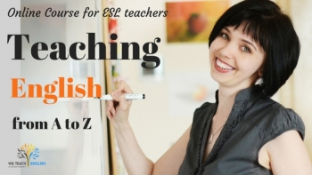 Teaching English from A to Z.
