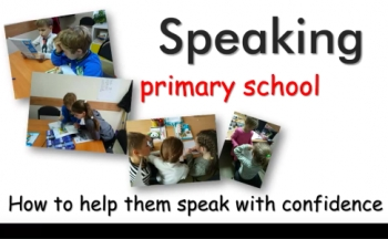 How to develop speaking in primary school