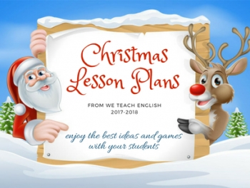 Christmas Pack. Ready-made lesson plans for your students.